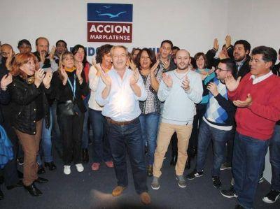 Artime, Branderiz y Morea los tres primeros candidatos de la Lista de Acción Marplatense