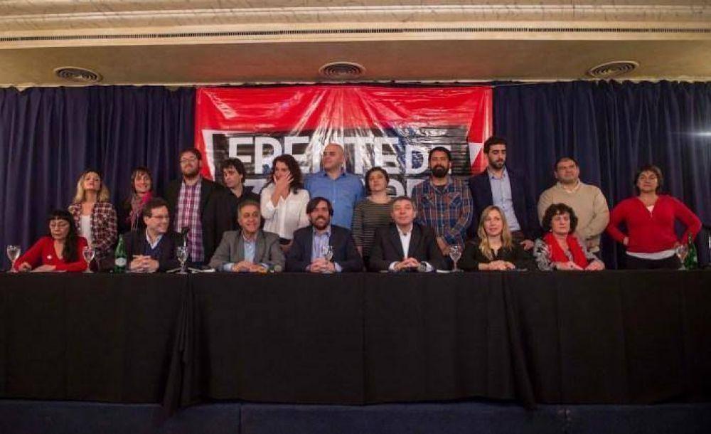 El Frente de Izquierda presenta candidatos en 21 distritos de todo el país