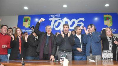 Frente Todos: presentaron oficialmente a los precandidatos para las legislativas