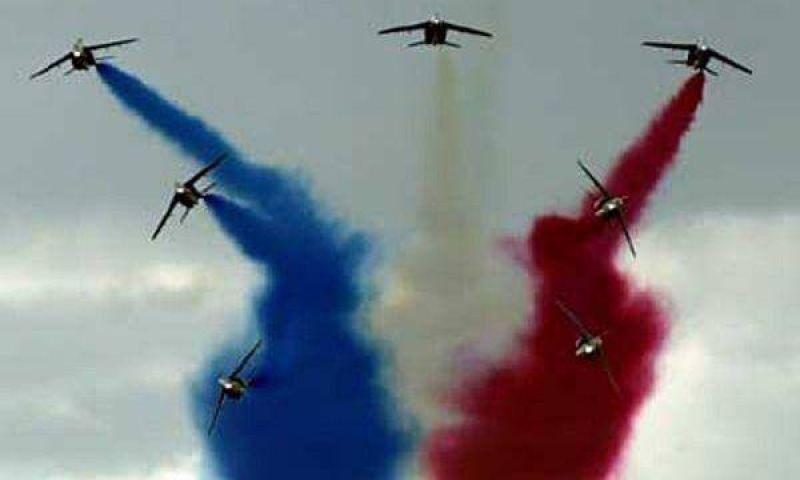 Aviones dibujarán el cielo de la 9 de Julio