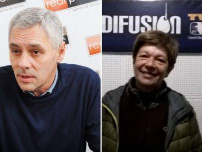 Cagliardi y Larrañaga presentaron sus listas y disputan las internas de Unidad Ciudadana en Berisso