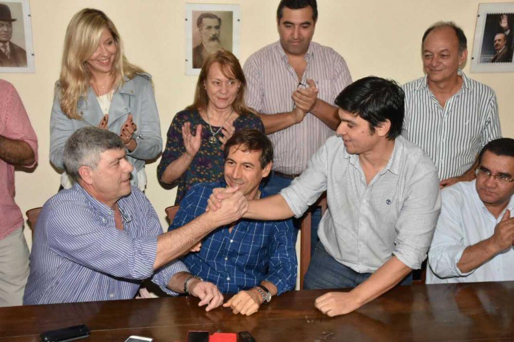 Cambiemos lanzó la Luis Naidenoff y a Mario Arce como cabezas de listas de los candidatos a Senadores y Diputados Nacionales