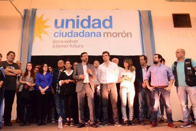 Unidad Ciudadana presentó su lista en Morón ante la militancia
