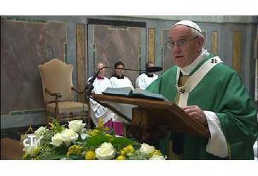Papa Francisco celebra una misa por sus 25 años de Ordenación Episcopal