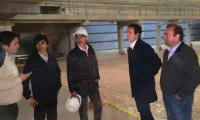 Avanzan las obras para finalizar con la construcción del microestadio de Pilar