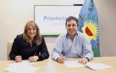 Provincia Leasing financió bienes para el municipio de General Arenales