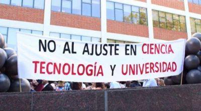 Científicos y Universitarios cantan despacito contra el ajuste