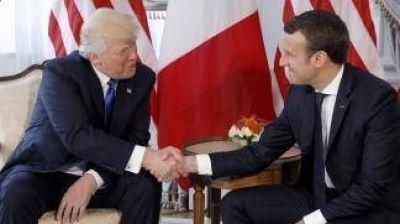 Trump asistirá al desfile militar del 14 de julio en Francia