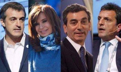 """""""Eco"""" campaña: Randazzo, Massa y CFK, por el voto afectado por la crisis"""