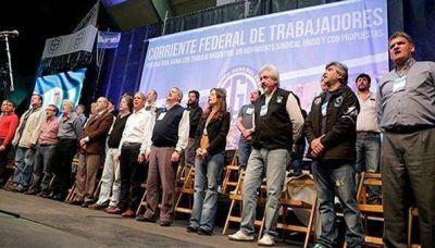 La Corriente Federal le pide a la CGT que retome el plan de lucha que dejó trunco