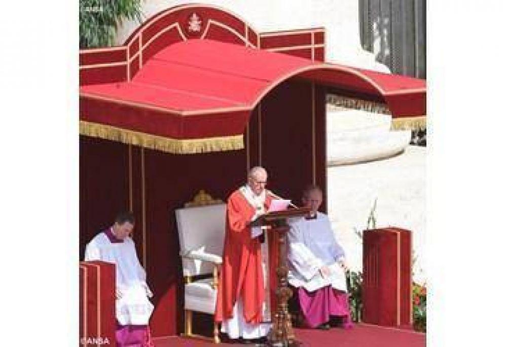 Papa: confesión, persecución y oración. Homilía en la Solemnidad de Pedro y Pablo