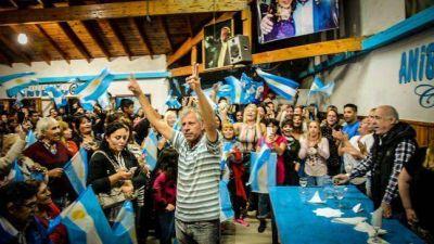 Regueiro presentó la nómina oficial de Unidad Ciudadana