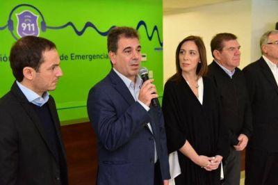 Vidal anunció la ampliación del 911