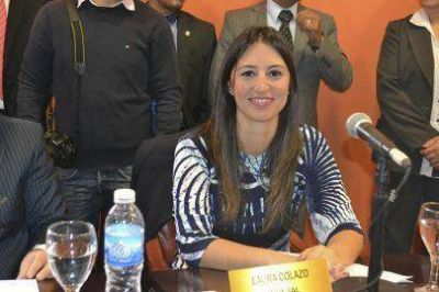 """Laura Colazo: """"No tengo miedo de pelear o acordar para defender a los fueguinos"""""""