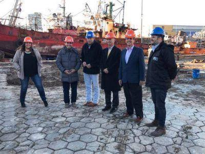 """""""Queremos revitalizar los puertos"""", dijo Ministro de Producción en Mar del Plata"""