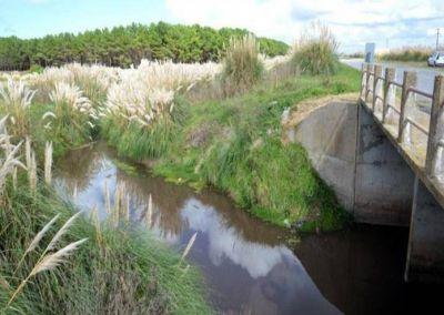 Tras las lluvias, OSSE verificó la respuesta de los arroyos