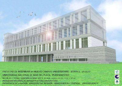 Comenzarán a construir el nuevo edificio de la Facultad de Ingeniería