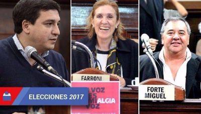 Se reconfigura el Concejo: Farroni, Forte y Jazmín confluyen en un mismo bloque
