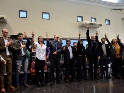 El randazzismo se consolida en La Plata: Se presentó la lista que encabeza Lambertini y Di Marzio