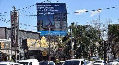 Nación y Provincia pelean por el cartel de las mismas obras