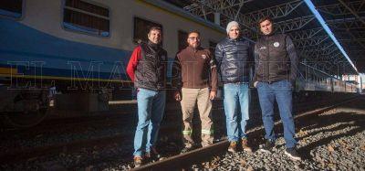 Los trabajadores ferroviarios, entre el entusiasmo y la espera de mejoras