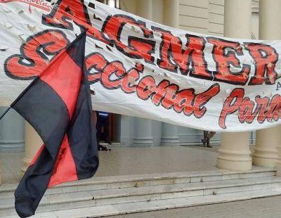 Agmer Paraná hará asambleas el martes