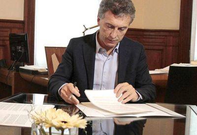 """Macri insistió en culpar a la """"mafia de juicios laborales"""" por el cierre de pymes"""