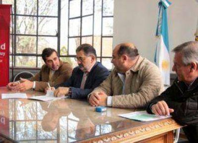 Plan Nacional Hábitat: obras de infraestructura básica para el Bº Punta Diamante- El Chingo