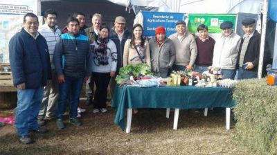 Cejas Lescano representó al Ministerio de Agroindustria en muestra productiva