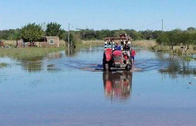 Chaco elevó a Nación un informe de la emergencia hídrica provincial