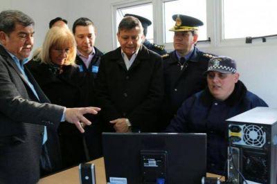 Nievas destacó el sistema de videovigilancia para el control del tráfico en el Portal de Acceso a Chaco