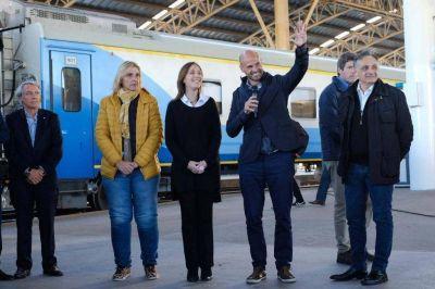 """Vidal: """"Volvió a funcionar el tren y esta vez es para siempre"""""""