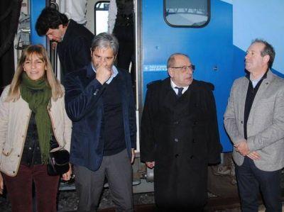 """""""El tren nos permite tener una conectividad que se había perdido en los últimos años"""""""