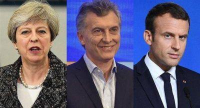 Macri se reunirá con Theresa May y Macron en la cumbre del G-20