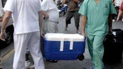 La decimoquinta donación de órganos permitirá el trasplante de tres personas