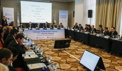 Se realizó la centésima reunión del Consejo Federal del Trabajo