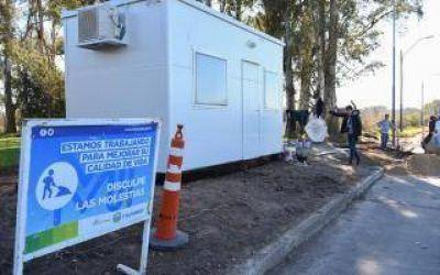 Ituzaingó: Mejoran calles y construyen posta policial en Barrio Nuevo