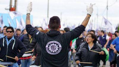 Primera jornada de paro de la UOM en Río Grande