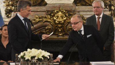 Debuta Faurie con Macri en el G-20