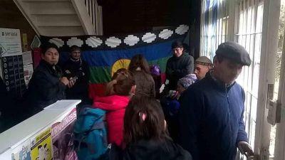 Mapuches volvieron a tomar la sede del Senasa