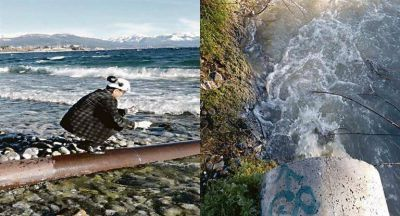 Bariloche: preocupan efluentes cloacales en el Nahuel Huapi