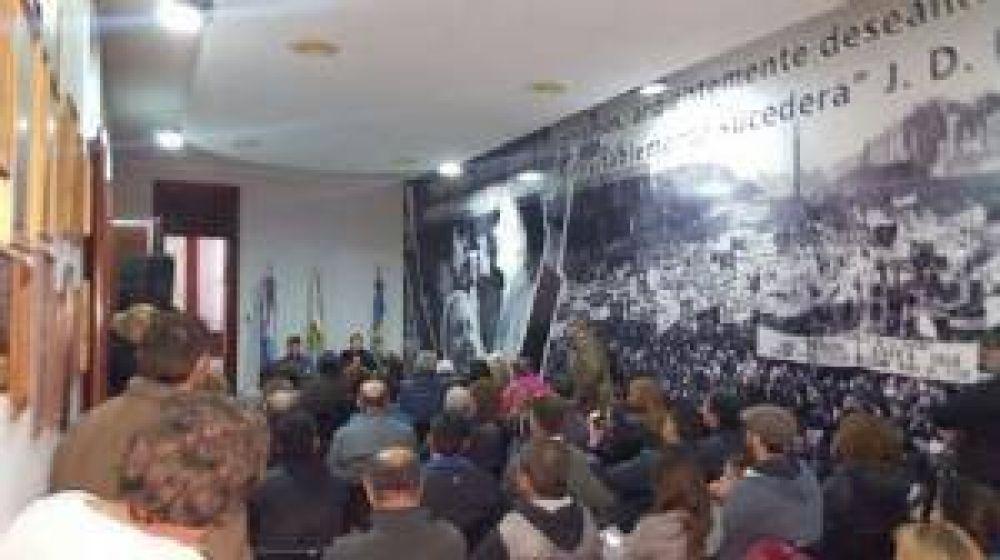 Darío Speranza asumió la presidencia del Partido Justicialista local