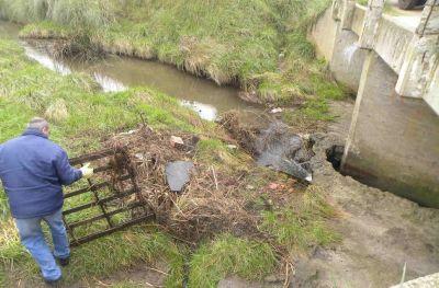 OSSE asegura que ya comenzaron con los trabajos de limpieza en los arroyos