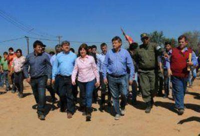 Peppo y Bullrich lanzarán hoy en Puerto Bermejo el operativo Río Paraguay