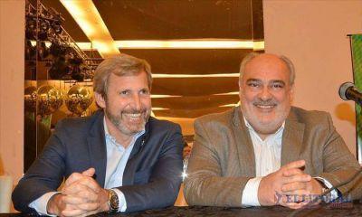 Frigerio vuelve para levantar las manos de los candidatos de ECO+Cambiemos