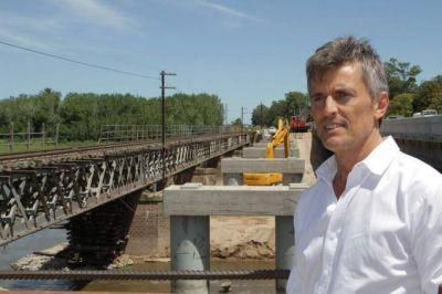 """Franetovich dice que la vuelta del tren es """"campaña"""" y que se podría haber inaugurado hace un año"""