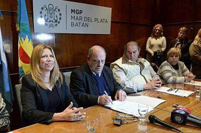 Comenzaron las firmas de convenios con las asociaciones de fomento
