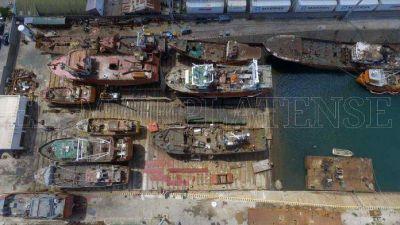 La antigüedad promedio de la flota pesquera local es de 36,6 años