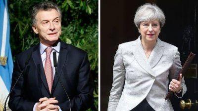 Theresa May canceló oficialmente su audiencia con Mauricio Macri en el G20