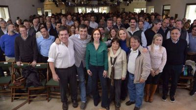 Fuerte movida de campaña de Cambiemos en La Plata, con Vidal a la cabeza